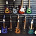 A wide range of Ibanez guitars
