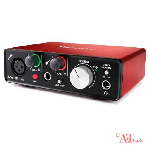 a7c37666450 Focusrite Scarlett Solo USB 2nd Generation Audio Interface