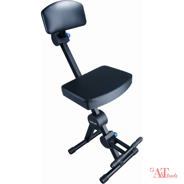 QUIK LOK DX749 Rapid Set-up height adjustable musicians stool with back rest u0026 footrest - Black  sc 1 st  Attrademusic.lv & QUIK LOK DX749 Rapid Set-up height adjustable musicians stool ... islam-shia.org