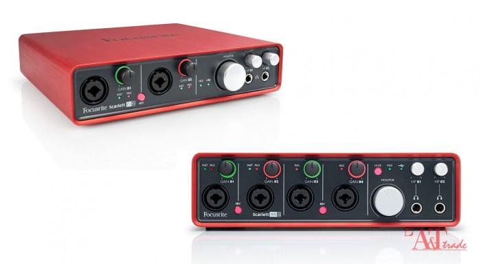 FOCUSRITE Scarlett 18i8 audio USB Interface