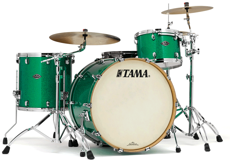Tama 40th Anniversary Limited Edition models